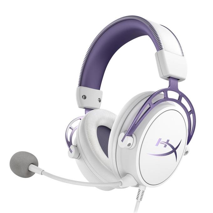 Слушалки HyperX Cloud Alpha, микрофон, геймърски, бели image