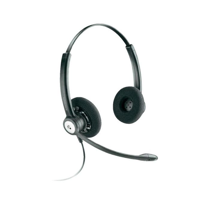 Слушалки Plantronics Entera HW121N, широколентов звук, шумоизолиращ микрофон, QD букса, черни image