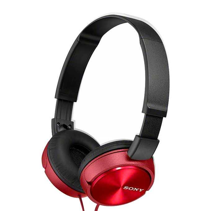 Слушалки Sony MDR-ZX310, червени image