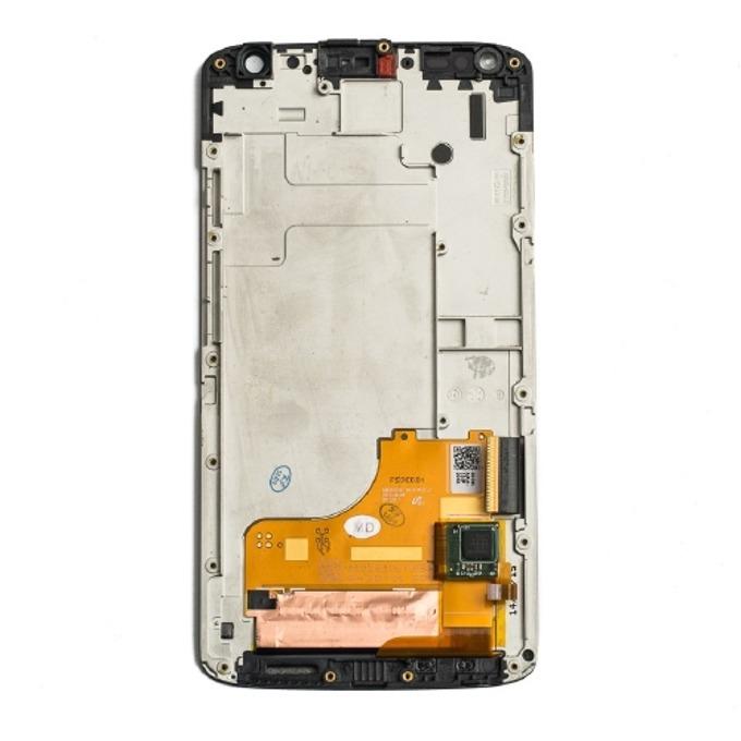 Дисплей за Motorola Moto X Force XT1580, с тъч и рамка, черен image