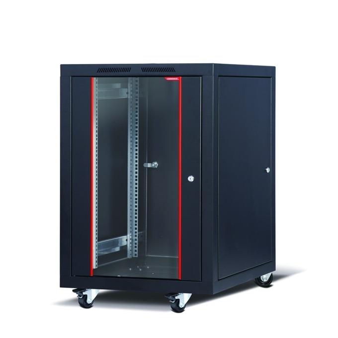 "Комуникационен шкаф Formrack CSM-16U6080, 19"", 16U, 600 x 780 mm, черен image"