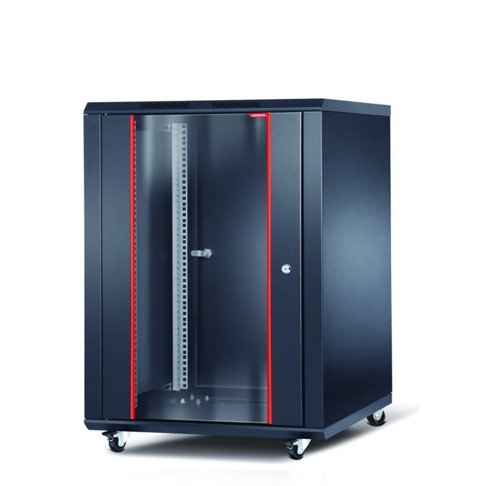 "Комуникационен шкаф Formrack INT-20U6060, 19"", 20U, 600 x 600 mm, черен image"